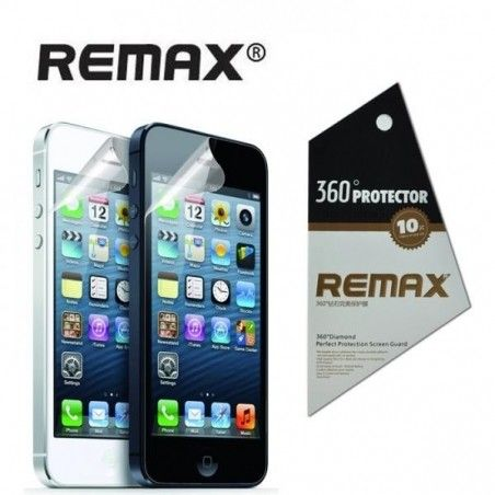 Защитная пленка REMAX Apple iPhone 5/5S/5C (front+back) Daimond
