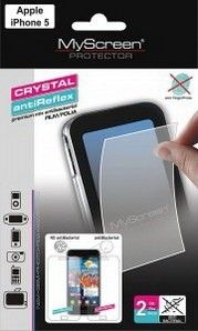 Защитная пленка MyScreen Apple iPhone 5/5S/5C antiReflex antiBacterial (SPMSIPHONE5SARAB)