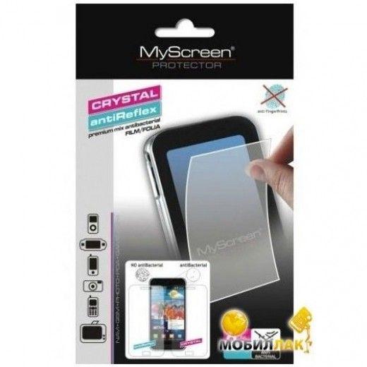 Защитная пленка MyScreen Sony Xperia M (Crystal, antiBacterial)