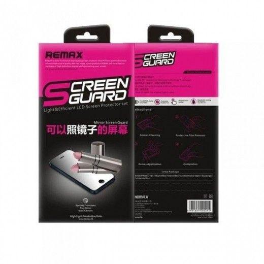 Защитная пленка REMAX Apple iPhone 5/5S/5C (front+back) Mirror