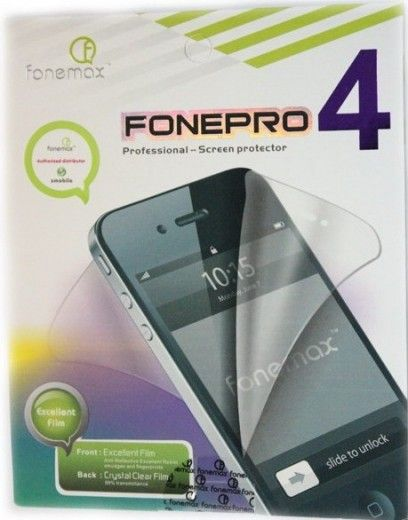 Защитная пленка Fonemax FONEPRO iPhone 4/4S Crystal Clear/Clear film