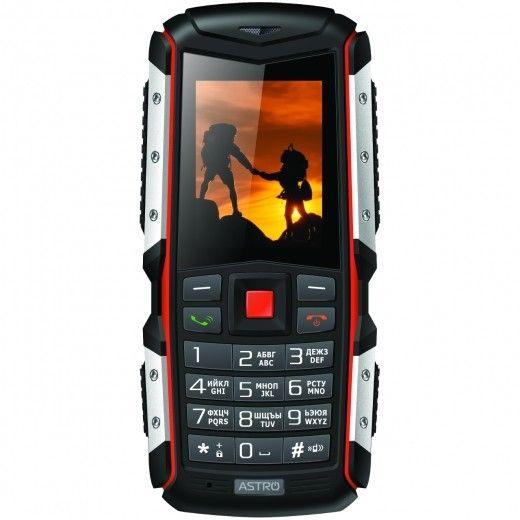 Мобильный телефон Astro A200 RX Black-Orange