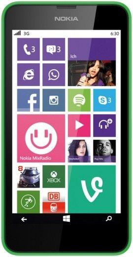 Мобильный телефон Nokia Lumia 630 Dual SIM Green