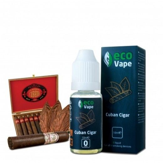 Жидкость для электронных сигарет ECO Vape Cuban Sigar 0 мг/мл