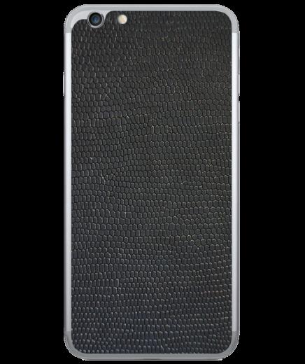 Кожаная наклейка Black Suede для iPhone 6 Plus