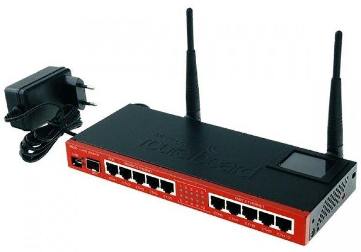 Wi-Fi роутер Mikrotik RB2011UiAS-2HnD-IN