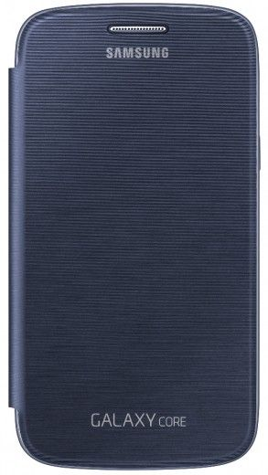 Чехол Samsung для Galaxy Core I8262 Blue (EF-FI826BLEGWW)