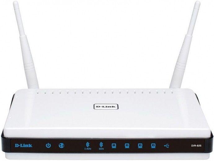 Wi-Fi роутер D-Link DIR-825