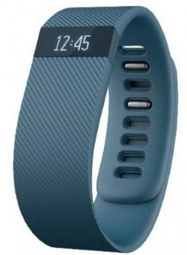 Фитнес-трекер Fitbit Charge Small Slate (FB404SLS-EU)