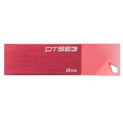 USB флеш накопитель Kingston DTSE3 8GB Red (KC-U688G-3YR)