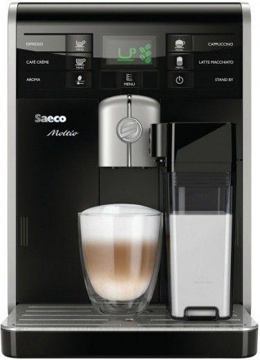 Кофеварка Saeco Moltio One Touch Cappuccino (HD8769/09)