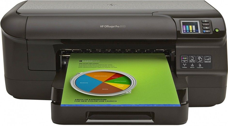 Принтер HP Officejet Pro 8100 ePrinter (CM752A)
