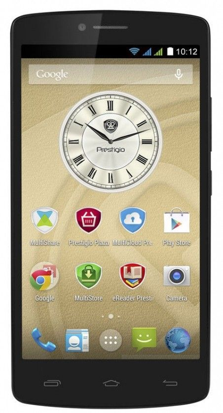 Смартфон Prestigio MultiPhone 5550 Duo Black