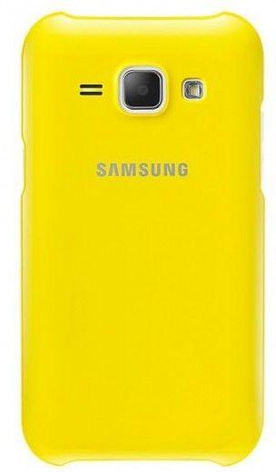 Накладка Samsung EF-PJ100B для Samsung Galaxy J1 J100H Yellow (EF-PJ100BYEGRU)
