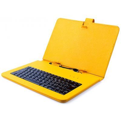 Чехол-клавиатура Vellini для планшета 7-8 Yellow