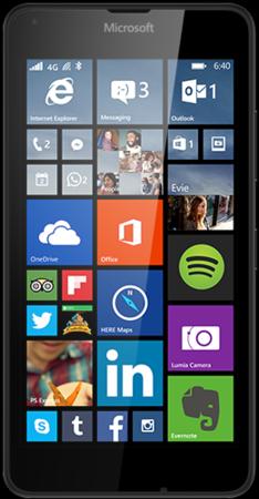 Мобильный телефон Microsoft Lumia 640 Dual Sim Black