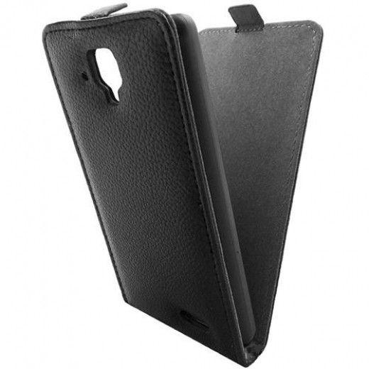 Чехол GlobalCase Lenovo A536 Flip Down Black (1283126462450)
