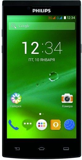 Мобильный телефон Philips S398 Dual Sim Black