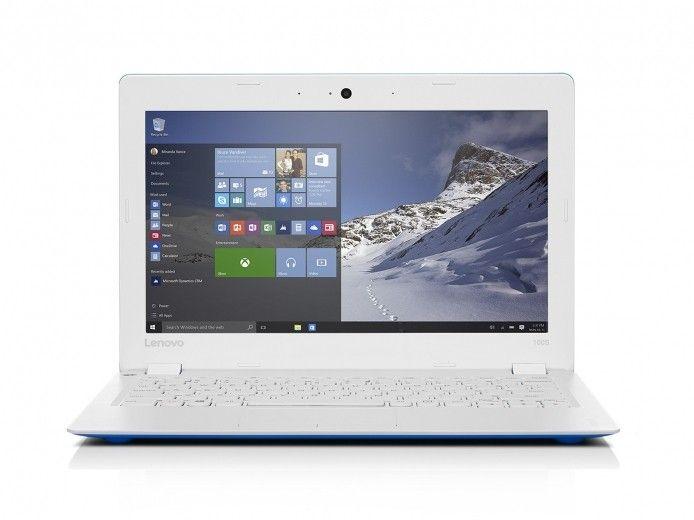 Ноутбук LENOVO IdeaPad 100S (80R2006BUA) Blue-White