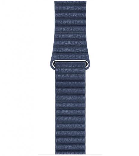 Ремешок Leather Loop для Apple Watch 42мм (MLHL2/MLHM2) Bright Blue