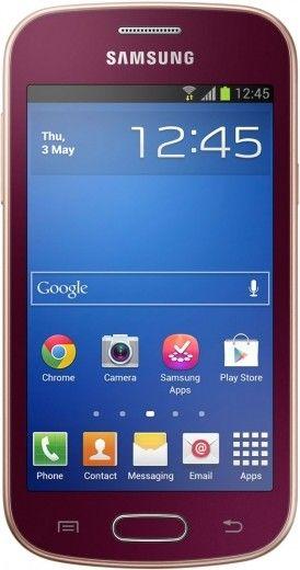 Мобильный телефон Samsung S7390 Galaxy Trend Wine Red