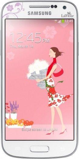 Мобильный телефон Samsung I9190 Galaxy S4 Mini White La Fleur