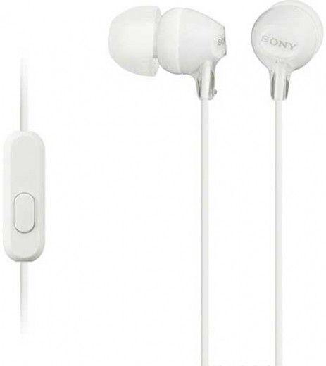 Наушники Sony MDR-EX15AP White (MDREX15APW.CE7)
