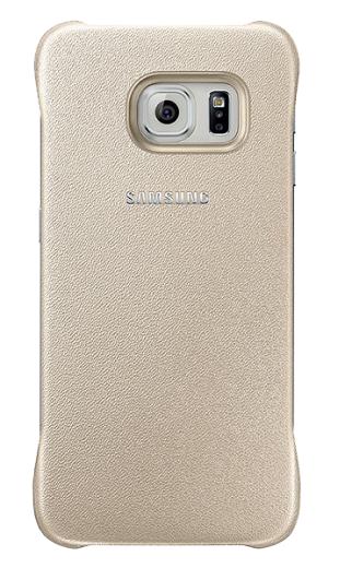 Накладка Samsung Zero Edge для Samsung Galaxy S6 Edge Gold (EF-YG925BFEGRU)