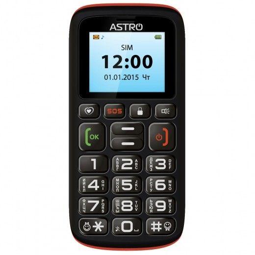 Мобильный телефон Astro B181 Black/Orange