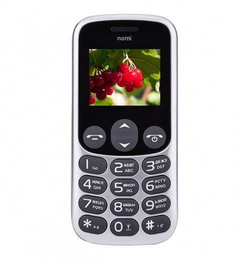 Мобильный телефон Nomi i177 Grey