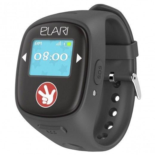 Детский телефон-часы с GPS трекером FIXITIME 2 Black (FT-201B)