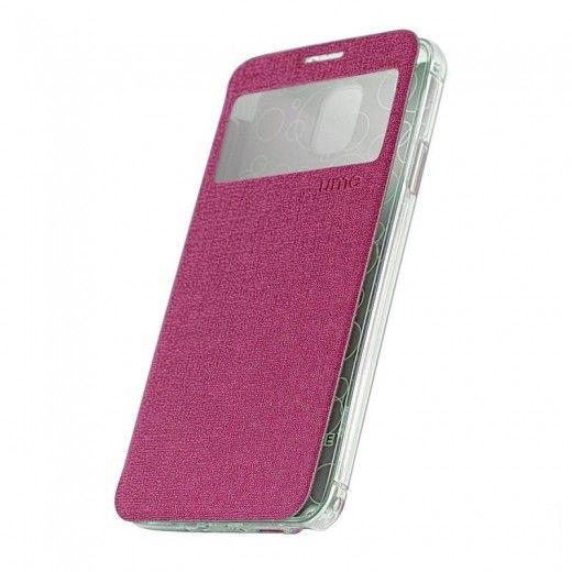 Чехол-книжка со смарт окошком МК Samsung G360 Purple