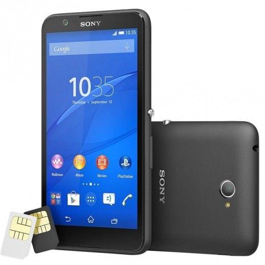 Мобильный телефон Sony Xperia E4 Dual E2115 Black