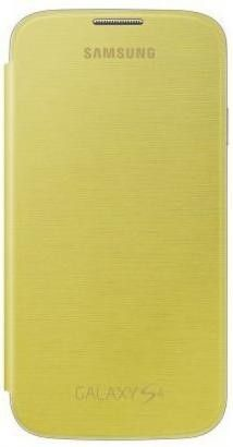 Чехол-книга Samsung для Galaxy S4 I9500 Yellow (EF-FI950BYEGWW)
