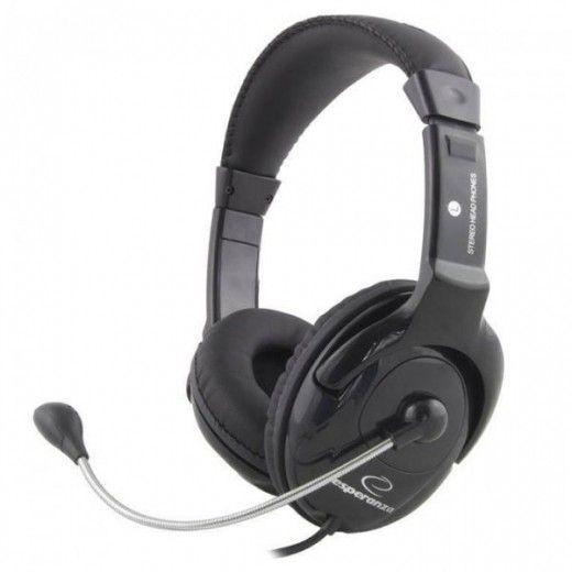 Навушники Esperanza EH101K Black