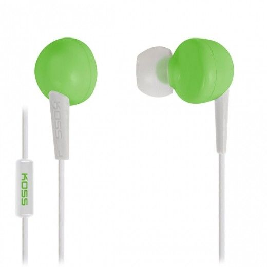 Навушники Koss KEB6i Green