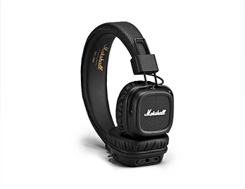 Наушники Marshall Major II Bluetooth Black (4091378)