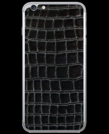 Кожаная наклейка Dark Croco для iPhone 6/6S