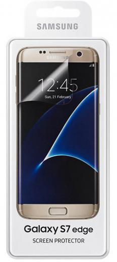 Защитная пленка Samsung для Samsung Galaxy S7 Edge глянцевая (ET-FG935CTEGRU)