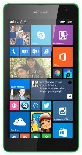 Смартфон Microsoft Lumia 535 DS Green