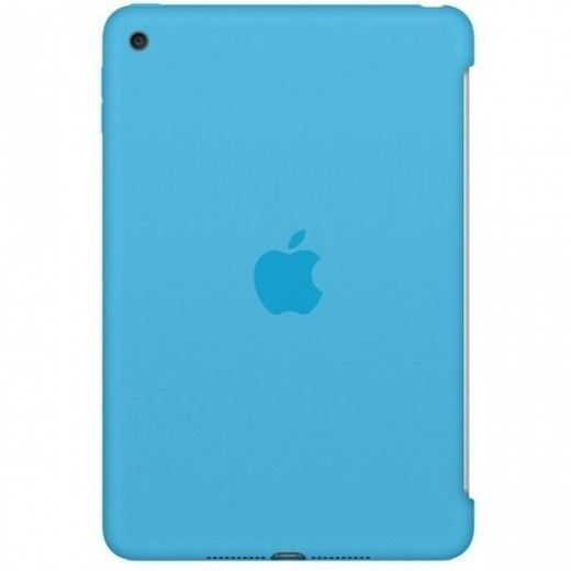 Силиконовый чехол Apple Silicone Case для  iPad mini 4 (MLD32ZM/A) Blue