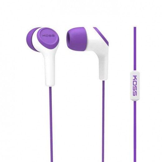 Навушники Koss KEB15i Violet