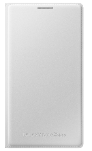 Чехол Samsung Flip Wallet для Galaxy Note 3 EF-WN750BWEGRU White
