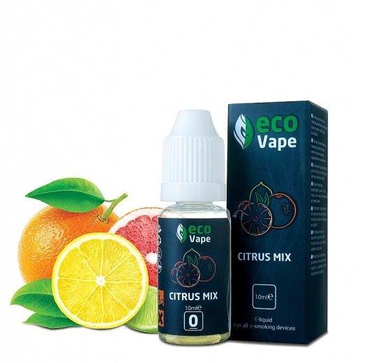 Жидкость для электронных сигарет ECO Vape Citrus Mix 0 мг/мл