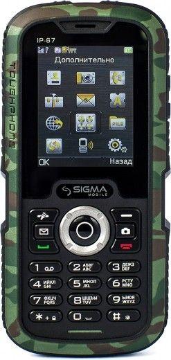 Мобильный телефон Sigma mobile X-treme IP67 Khaki