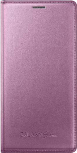 Чехол Samsung для S5 mini EF-FG800BPEGRU Pink