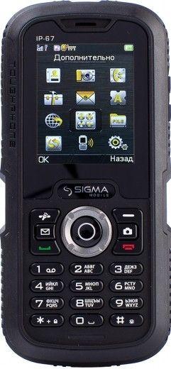 Мобильный телефон Sigma mobile X-treme IP67 Black