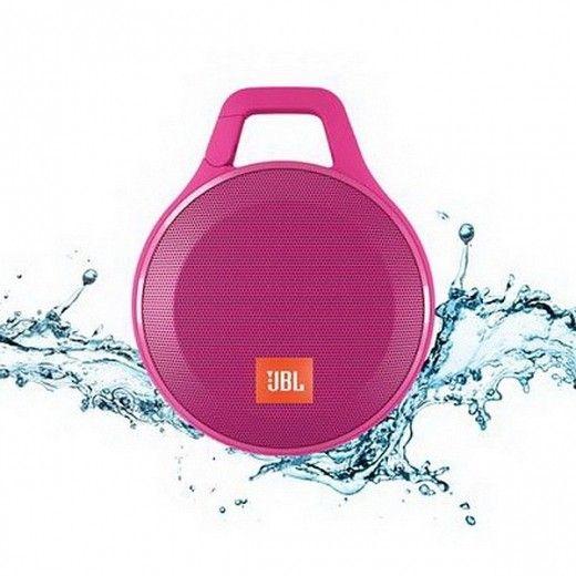 Портативная акустика JBL Clip+ Pink (CLIPPLUSPINK)