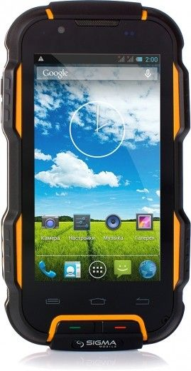 Мобильный телефон Sigma mobile X-treme PQ23 Black/Orange