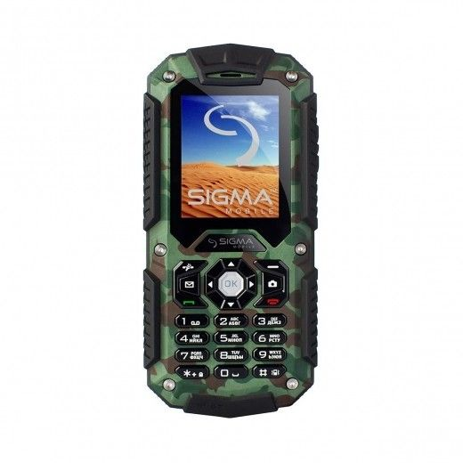 Мобильный телефон Sigma mobile X-treme IT67 Dual Sim Khaki